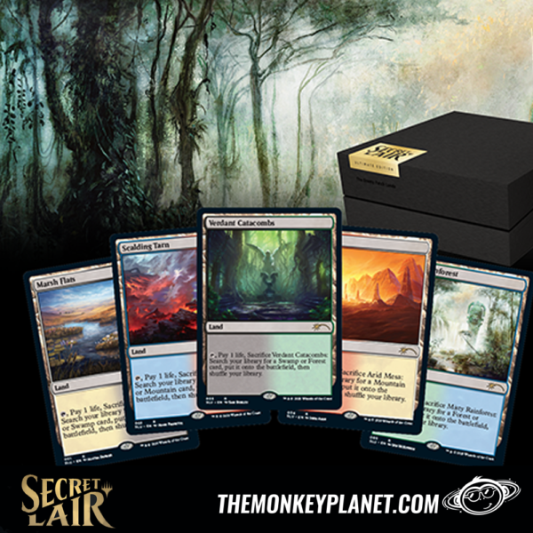 Secret Lair – Caja con Fetchlands